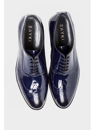 Hatem Saykı Klasik Ayakkabı Lacivert